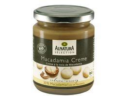 Alnatura Selection Macadamiacreme Selection