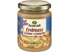 Alnatura Erdnusscreme mit Erdnussstuecken
