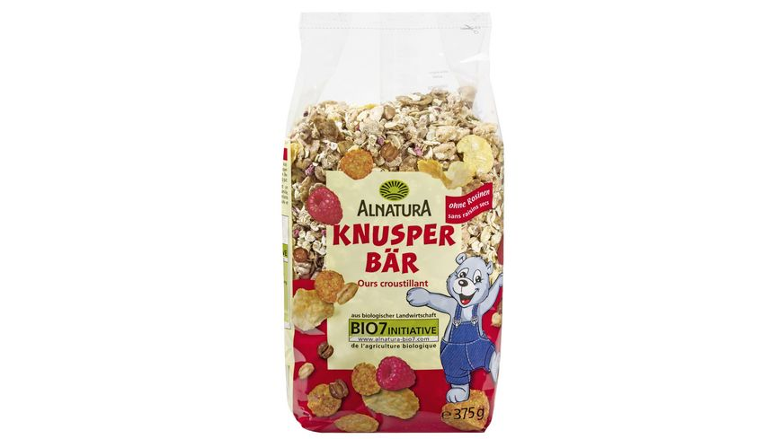 Alnatura Knusper-Bär
