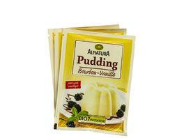 Alnatura Vanillepudding 3er Pack