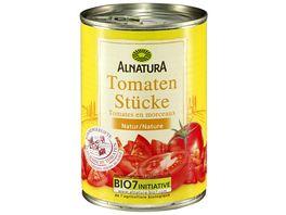 Alnatura Tomatenstuecke in der Dose