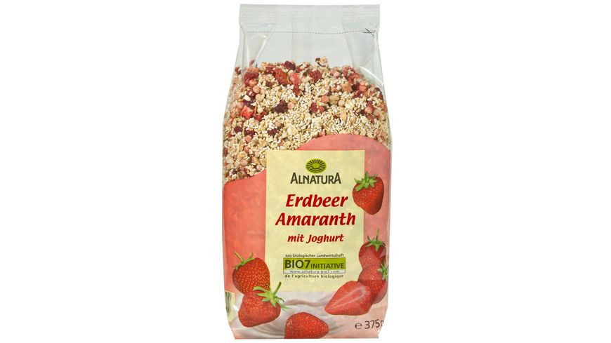 Alnatura Erdbeer Amaranth Muesli