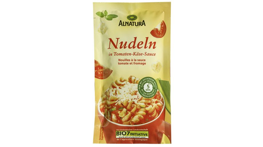 Alnatura Nudeln Tomaten Kaese Sauce