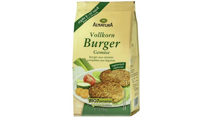 Alnatura Vollkorn Burger Gemuese