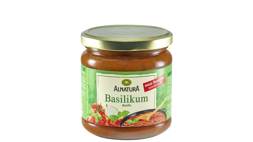 Alnatura Tomatensauce Basilikum