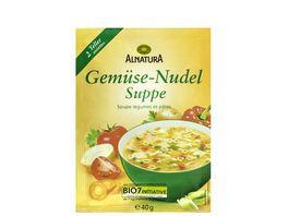Alnatura Gemuese Nudel Suppe