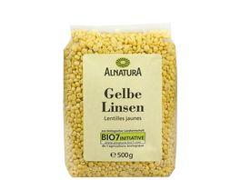Alnatura Gelbe Linsen