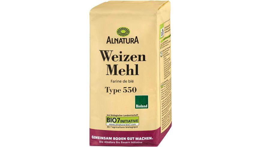 Alnatura Weizenmehl Type 550 1.000G