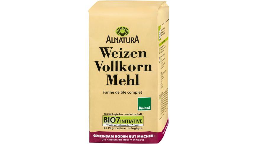 Alnatura Weizenvollkornmehl 1.000G