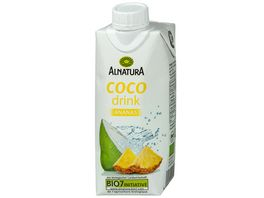 Alnatura Kokoswasser Coco Drink Ananas