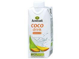 Alnatura Kokoswasser Coco Drink Mango