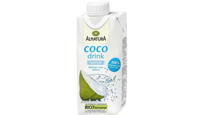 Alnatura Kokoswasser Coco Drink natur