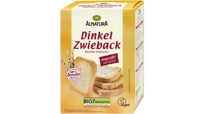 Alnatura Dinkelzwieback