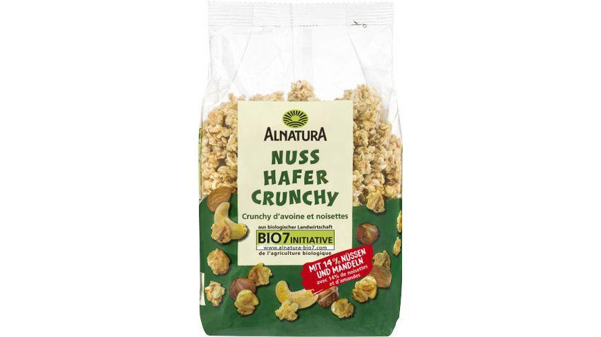 Alnatura Nuss Hafer Crunchy 375g