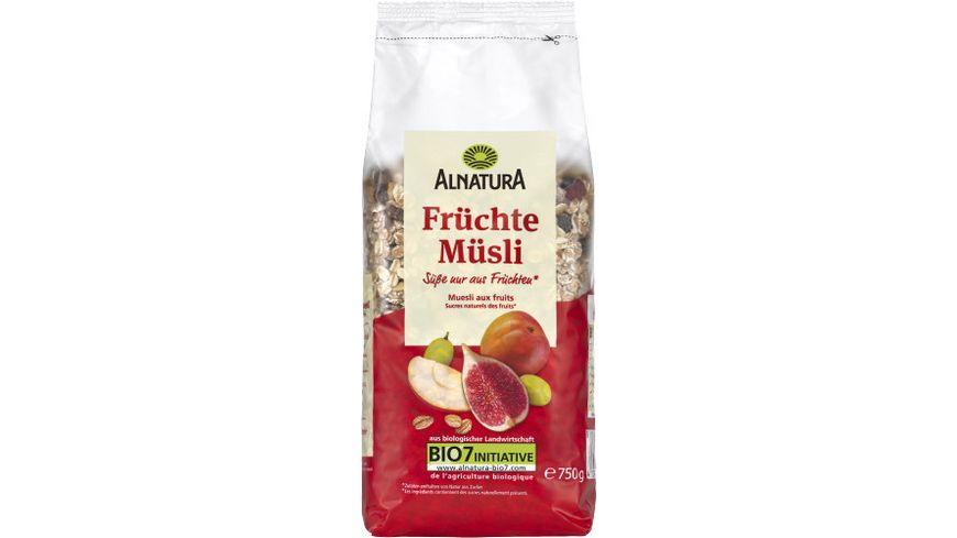 Alnatura Früchte-Müsli, 750g