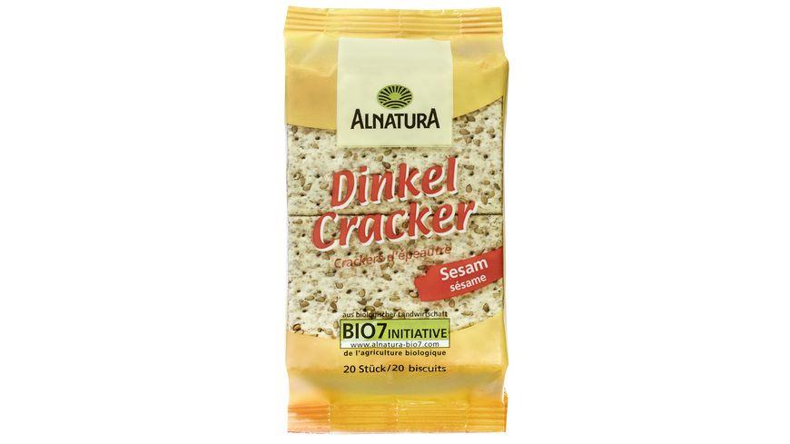 Alnatura Dinkel Cracker Sesam