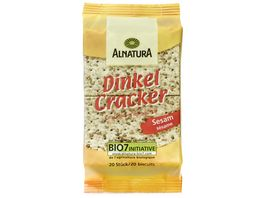Alnatura Dinkel Cracker Sesam