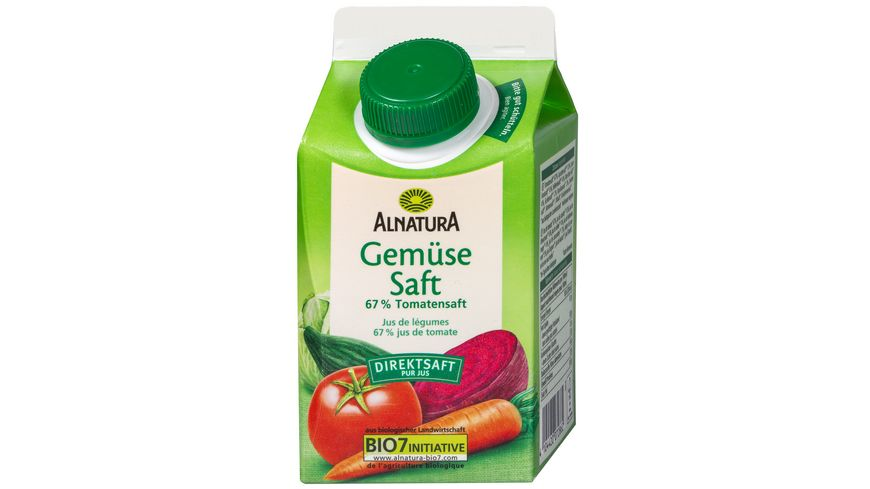 Alnatura Gemüsesaft 0,5L