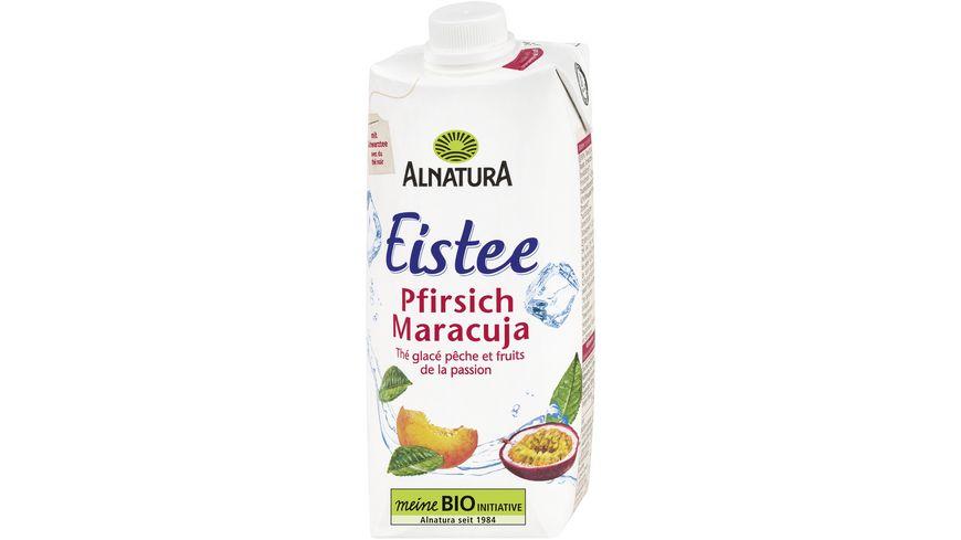 Alnatura Eistee Pfirsich-Maracuja, 0,5l