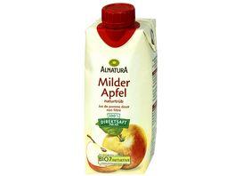 Alnatura Milder Apfelsaft naturtrueb 0 33l