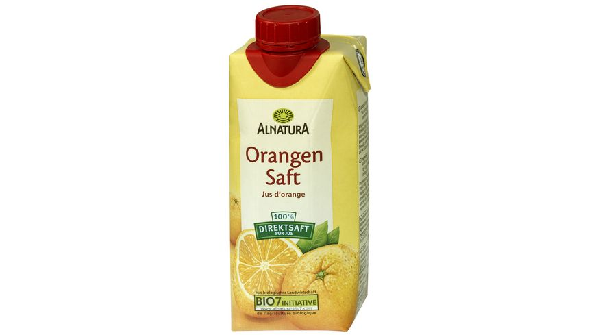 Alnatura Orangensaft 0,33L