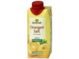 Alnatura Bio Orangensaft pasteurisiert 0 33 L