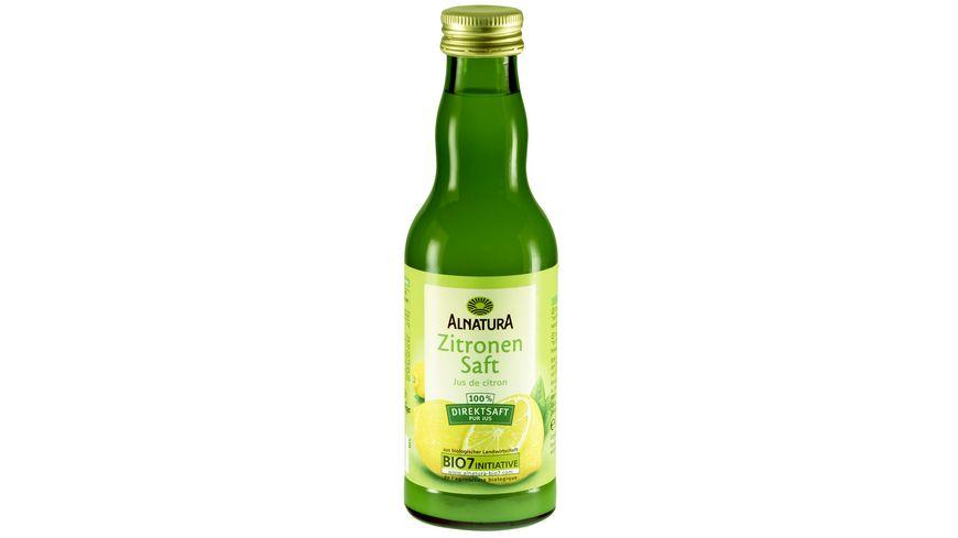 Alnatura Zitronensaft, 0,2l