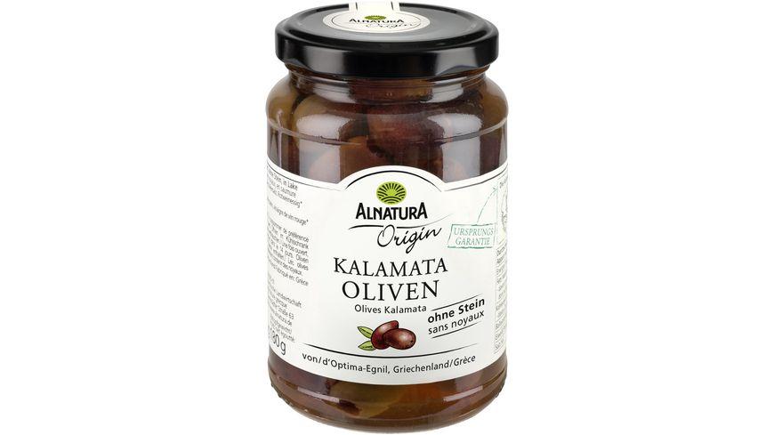 Alnatura Origin Kalamata-Oliven, ohne Stein Origin