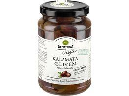 Alnatura Origin Kalamata Oliven ohne Stein Origin