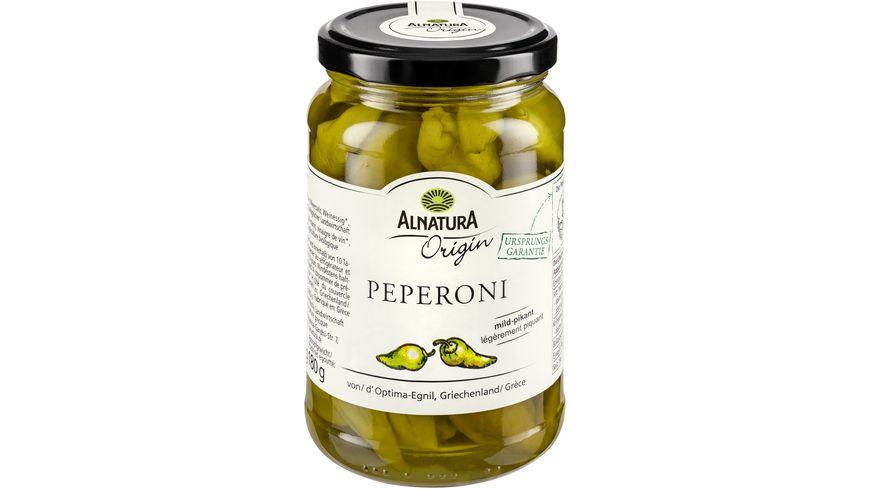 Alnatura Peperoni Origin mild pikant