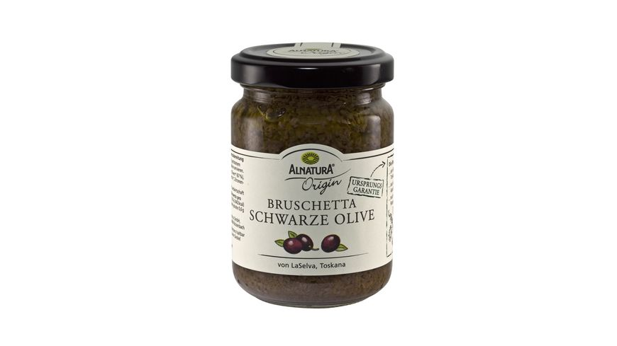 Alnatura Bruschetta Schwarze Olive