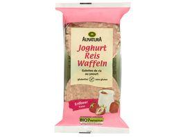 Alnatura Reiswaffeln Joghurt Erdbeer