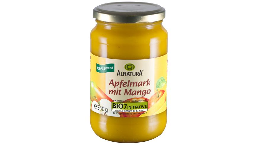 Alnatura Apfelmark mit Mango