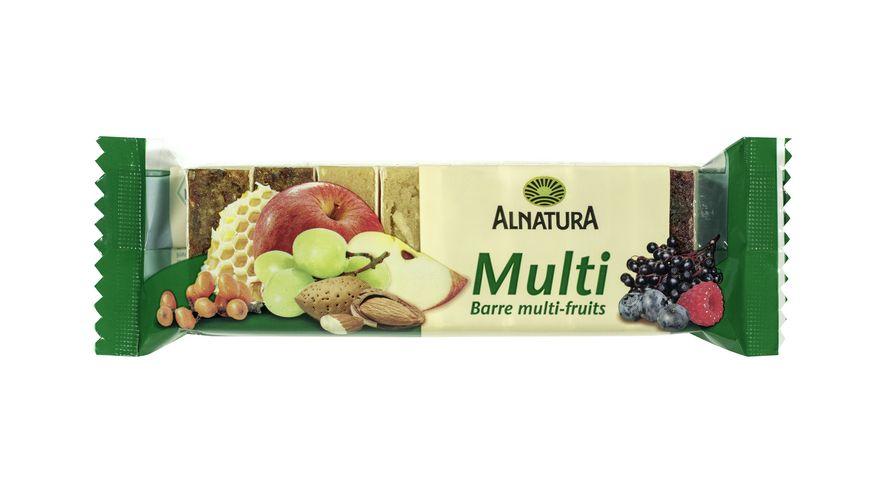 Alnatura Multi Fruchtschnitte mit Apfel