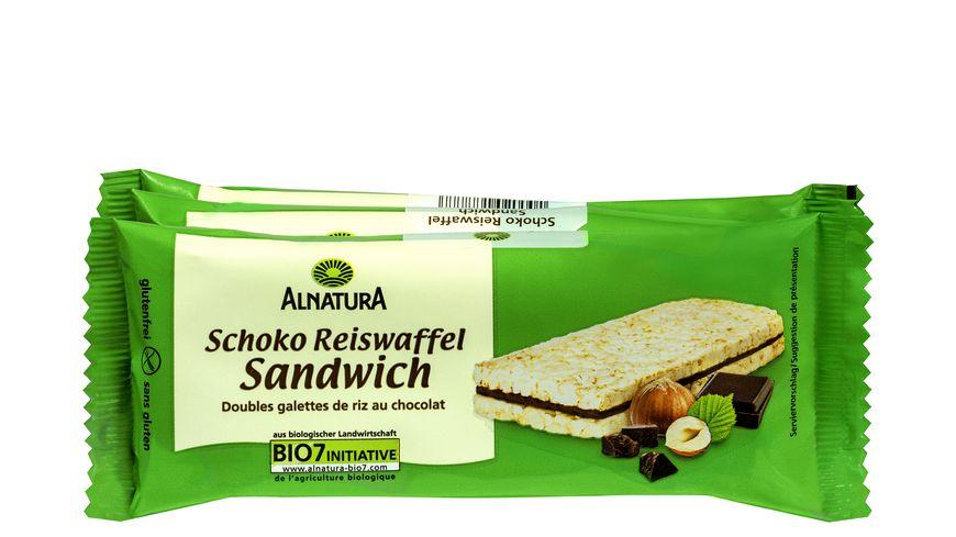 Alnatura Schoko Reiswaffel Sandwich