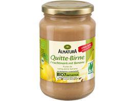 Alnatura Quitte Birne Fruchtmark