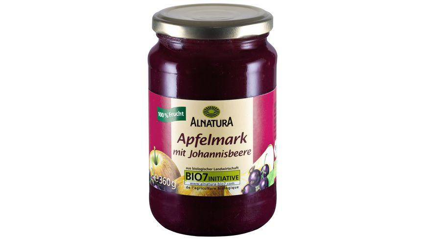 Alnatura Apfelmark mit Johannisbeere