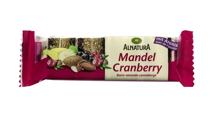 Alnatura Mandel-Cranberry-Fruchtschnitte