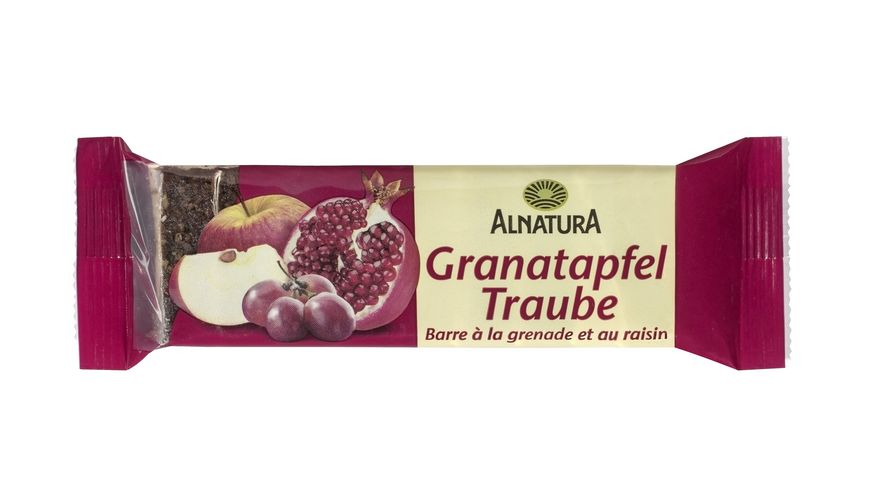 Alnatura Granatapfel Traube Fruchtschnitte 75G