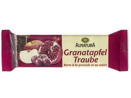 Alnatura Granatapfel Traube Fruchtschnitte
