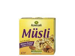 Alnatura Muesliriegel Ahorn Dattel 6er Pack