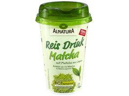 Alnatura Reis Drink Matcha