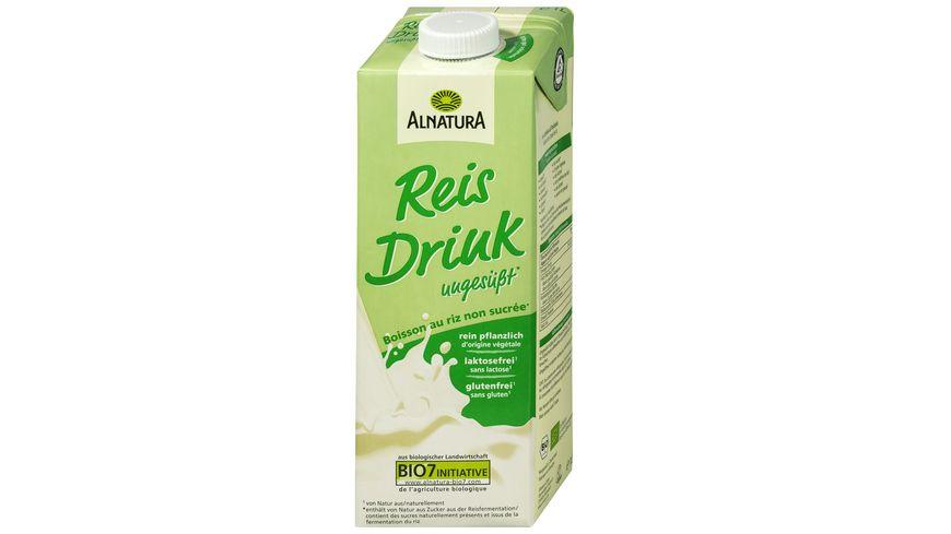 Alnatura Reisdrink, ungesüßt