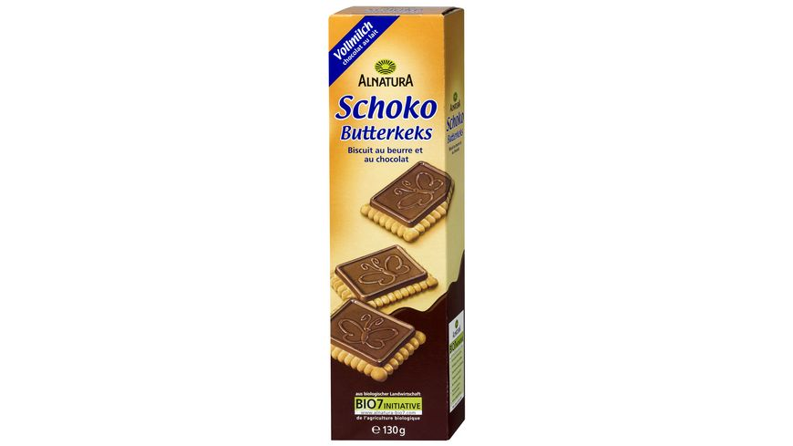 Alnatura Schoko Butterkeks Vollmilch