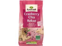 Alnatura Cranberry Chia Kekse