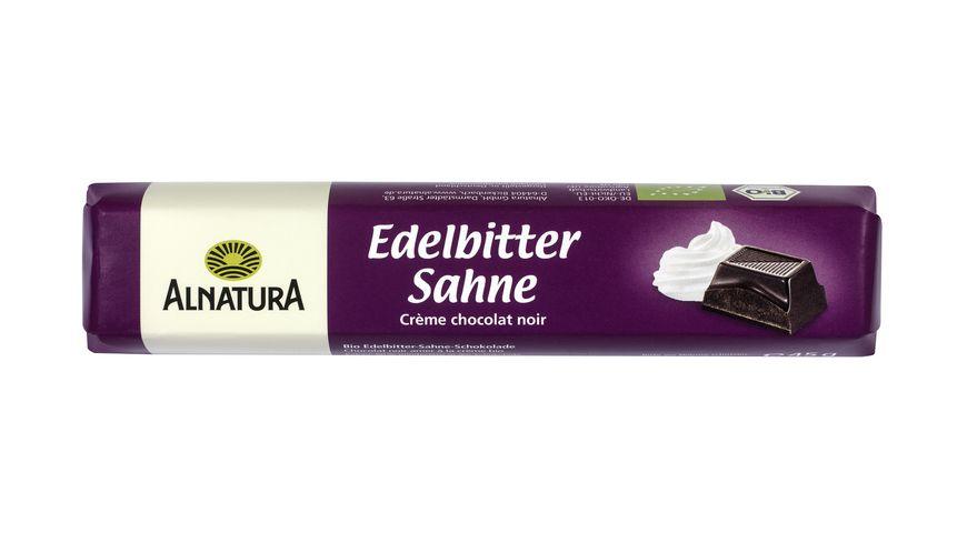 Alnatura Edelbitter Sahne Schokoriegel