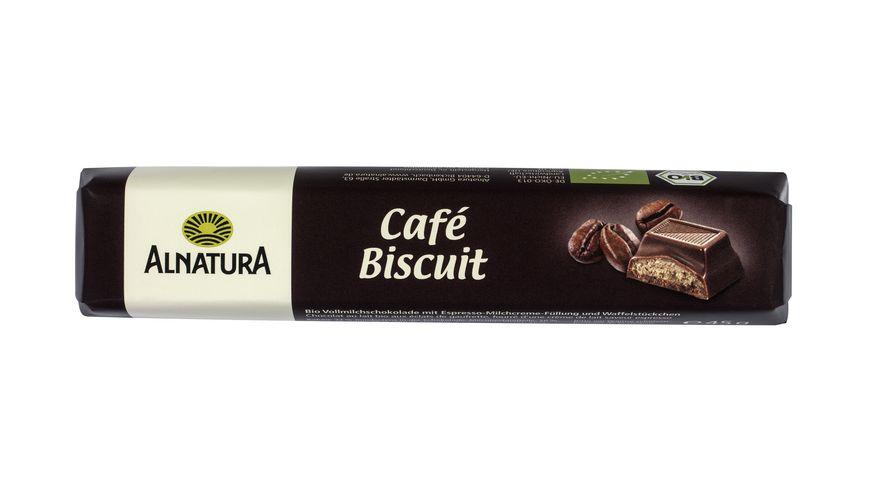 Alnatura Cafe Biscuit Schokoriegel