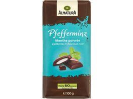 Alnatura Pfefferminzschokolade