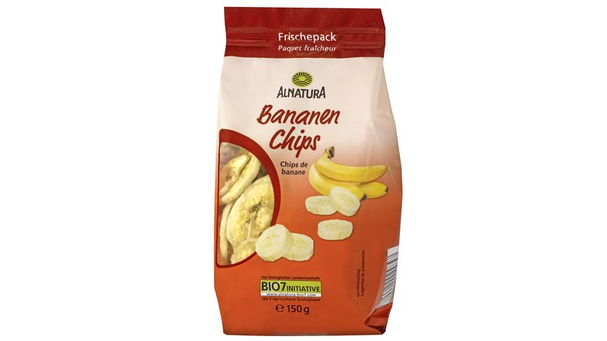 Alnatura Bananen Chips