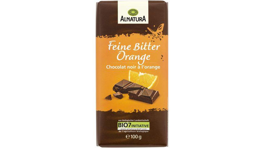 Alnatura Feine Bitter Orange Schokolade